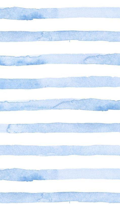 Blaue Aquarell-Streifen-Telefon-Tapete Seersucker-Sommer-Blau – Juna Rosenfeld … – Tapeten ideen - Gifts 4 You Cute Patterns Wallpaper, Cute Wallpaper For Phone, Iphone Background Wallpaper, Aesthetic Iphone Wallpaper, Aesthetic Wallpapers, Iphone Wallpaper Summer, Watercolor Wallpaper Iphone, Flower Wallpaper, Spring Wallpaper