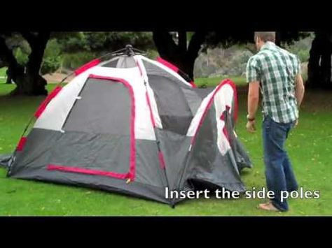 coleman instant tent 8 review