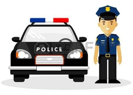Stock Vector Com Imagens Policial Policia Ideias