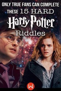 Quiz Only True Fans Can Complete These 15 Hard Harry Potter Riddles Harry Potter Riddles Harry Potter Buzzfeed Harry Potter Quiz
