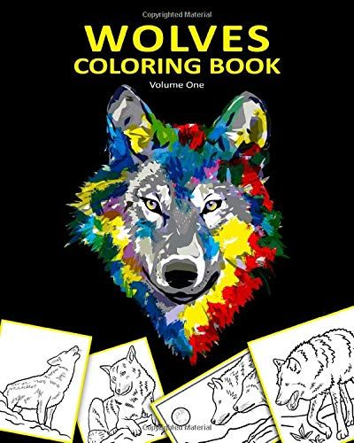 Majestic Wolf Coloring Book Coloring Books Coloring Pages For Kids Majestic Animals