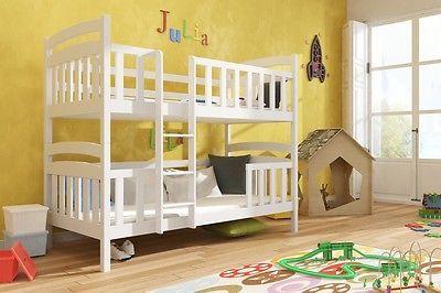 Etagenbett Kinderbett Hochbett Franklin Stockbett Mit Matratzen