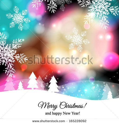merry christmas and happy new year card by wedding invitation cards via shutterstock
