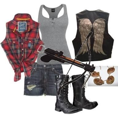 Pin By Chelsea On Cosplay Walking Dead Clothes Zombie Apocalypse Outfit Wwe Outfits