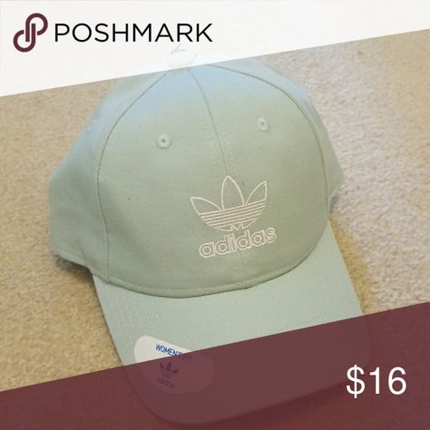 adidas hat new ash green/white adidas Accessories Hats
