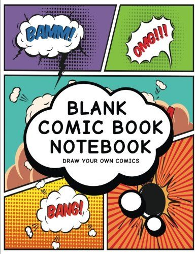 Download Pdf Blank Comic Book Notebook Create Your Own Comic Book