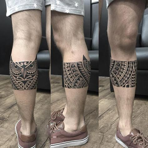 How Much Do Polynesian Tattoos Cost Polynesiantattoos Leg Band Tattoos Leg Tattoos Maori Tattoo