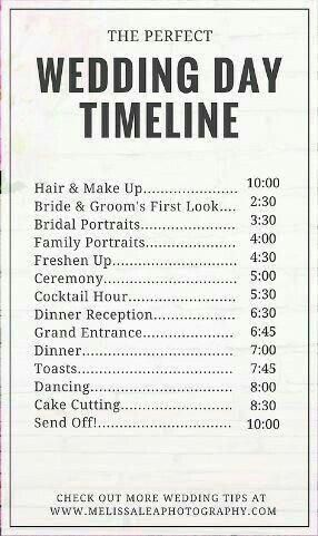 Check Below For Wedding To Do List Wedding Day Timeline Wedding Planning Timeline Wedding Planning Guide