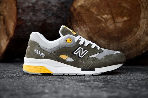 68369eee9d137 New Balance 1600 - Olive Green