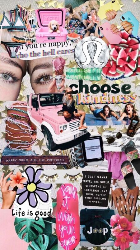 Vsco Happinessinpixels Magazine Collage Collage Background