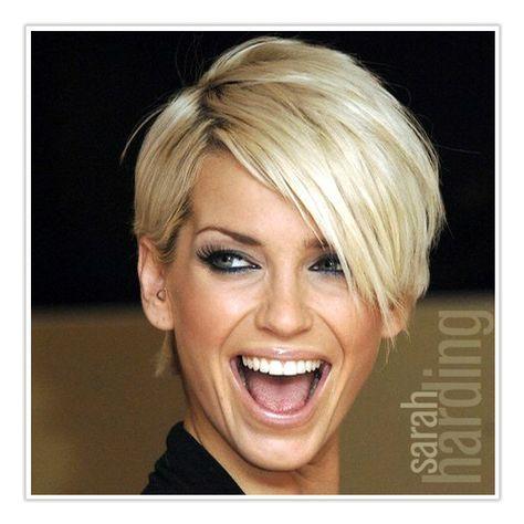 Sarah Harding Sarah Harding Short Hairstyles For Thick Hair Hair Styles Short Hair Styles