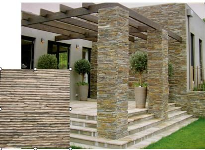 Slate Tile Patterns For Exterior Walls | ... Slate Tiles / Wall Cladding  Slate