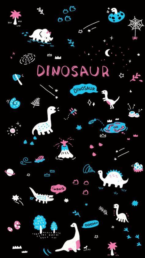 25 Trendy Wallpaper Cute Kawaii Galaxies Galaxy Wallpaper Dinosaur Wallpaper Wallpaper Iphone Cute