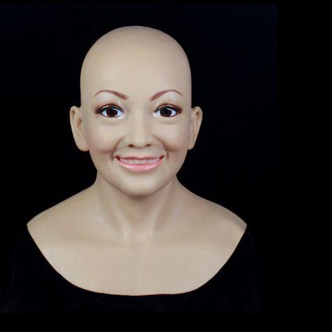 Sf 11 Fixed With Zipper Sissy Boy Rubber Latex Mask Cross Dressing Halloween Horror Female Mask Female Mask Sissy Boy Affiliate
