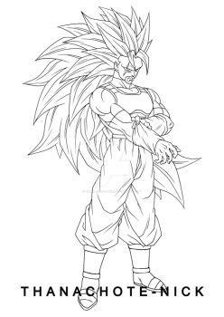 Oc Mayze Super Saiyan 3 Dbxv2 By Thanachote Nick Dragon Ball Super Art Dragon Ball Art Anime Character Design