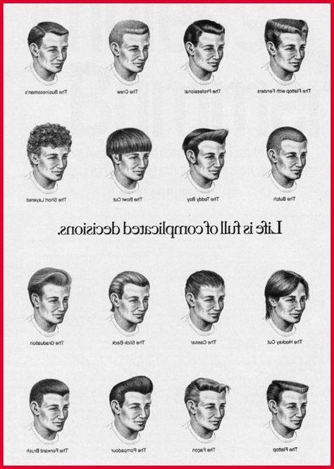 Haarschnitt,Art und ,name