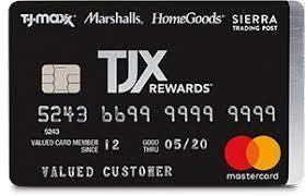 Tjx Rewards Credit Card With Images Rewards Credit Cards