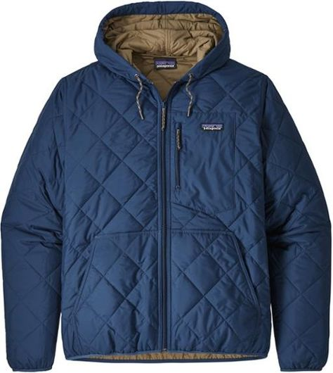 Patagonia Diamond Quilted Insulated Bomber Hoodie Men S