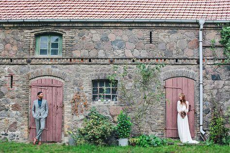 Endlich zurück im Gartenglück Wegendorf - der Location, in die ich mich vor drei Jahren bei der traumhaften Vintage-Hochzeit von Vici und Marc verliebt hatte. Und auch dieses Mal war es umwerfend schön. Was vor allem an dem umwerfend schönen Traumpaar lag.