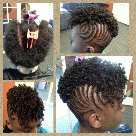 Braids with twistout