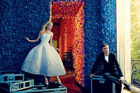 Raf Simons  Photographed by Norman Jean Roy