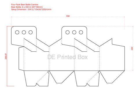 Packaging Ideas Beer Packaging Beer Carrier Design Packaging Template
