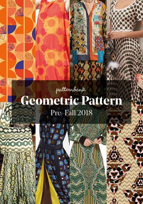 Pre-Fall 2018 Print and Pattern Highlights - Part 1 | Patternbank #FashionTrendsForecasting