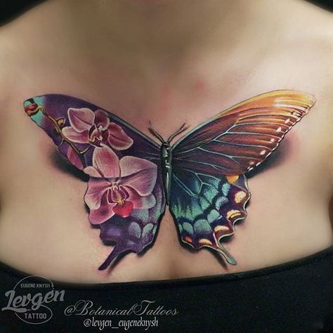 Butterfly Tatoo Pinterest Mariposa Tatuaje Primer Tatuaje