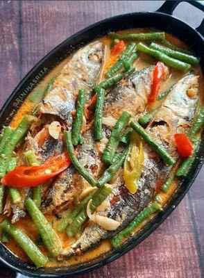 Masak Ikan Pindang : masak, pindang, Pindang, Masak, Santan, Resep, Masakan,, Ikan,, Masakan
