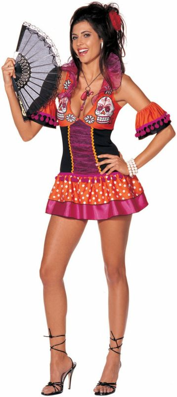 Dame of the Dead Adult Costume The o\u0027jays, Adult costumes and Ps - halloween girl costume ideas