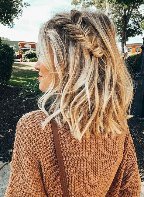 cute hairstyles for short hair;cute hairstyles for medium hair;cute hairstyles for school;cute hairstyles for curly hair;short hairstyles for women; French Braid Hairstyles, Try On Hairstyles, Box Braids Hairstyles, Trending Hairstyles, Hairstyle Ideas, French Braids, Casual Hairstyles, Pretty Hairstyles, School Hairstyles