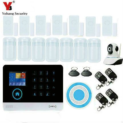Yobangsecurity Control Wifi Gsm Home Security Alarm Touch