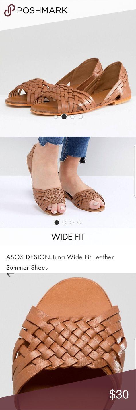 Worn twice ASOS Juna leather flats