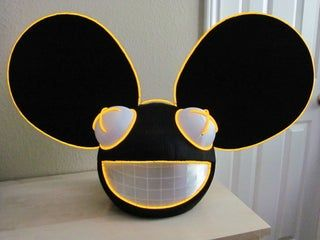 How To Build A Deadmau5 Head Deadmau5 Head Headed Hard Hats