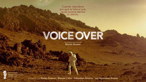 Voice Over #VoiceOver http://voice-over.es  #corto #cortometraje del Director Martín Rosete  #Cine