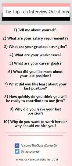 Best 25+ Top ten interview questions ideas on Pinterest Resume - top skills for resume