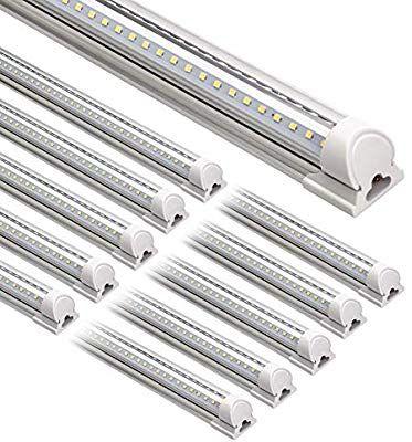 Barrina Led Shop Light 8ft 72w 8500lm 5000k Daylight White V
