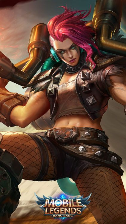 Mobile Legends Hilda Flower Of The Wastes Skin Mobile Legend Wallpaper Mobile Legends The Legend Of Heroes