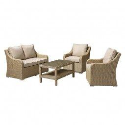 Phenomenal Nova Heritage Harper 2 Seat Rattan Sofa Set Willow Ncnpc Chair Design For Home Ncnpcorg
