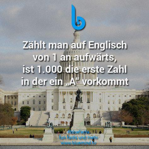 Einmal bitte bis 1.000 auf Englisch zählen #bluefacts