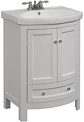 Runfine Rfva0069w Vanity 19 X 24 6 X 34 White Finish Amazon