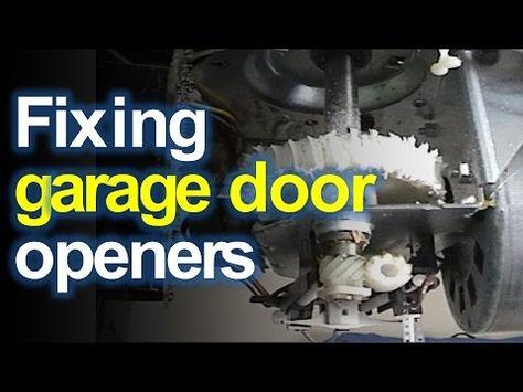 Craftsman Liftmaster Garage Door Opener Won T Open Or Close Replace The Stripped Gears Y In 2020 Garage Doors Liftmaster Garage Door Opener Liftmaster Garage Door