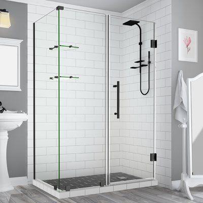 Aston Bromley Gs Frameless Corner Rectangle Hinged Shower Enclosure Wall Size Glass Door X Fixed Panel Shower Enclosure Frameless Shower Doors Shower Doors