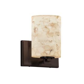 Justice Design Group Alr 8441 10 Dbrz Led1 700 Dark Bronze Era Single Light 7 Wide Integrated 3000k Led B Justice Design Wall Sconce Lighting Bathroom Sconces