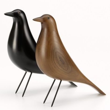 Vitra Eames House Bird Black Or Walnut Unknown Designer Eames House Bird Eames House Eames