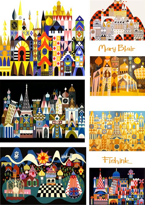 Mary Blair's two nieces Jeanne Chamberlain and Maggie Richardson have created a new website celebrating the life and work of their aunt. They very kindly allowed me to use information from t… Mary Blair, Disney Artists, Art Lesson Plans, Art Club, Book Illustration, Digital Illustration, Art Plastique, Teaching Art, Elementary Art