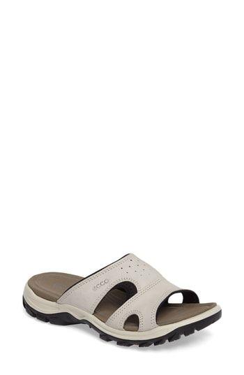 ECCO Offroad Lite Slide Sandal | Slide sandals, Ecco sandals