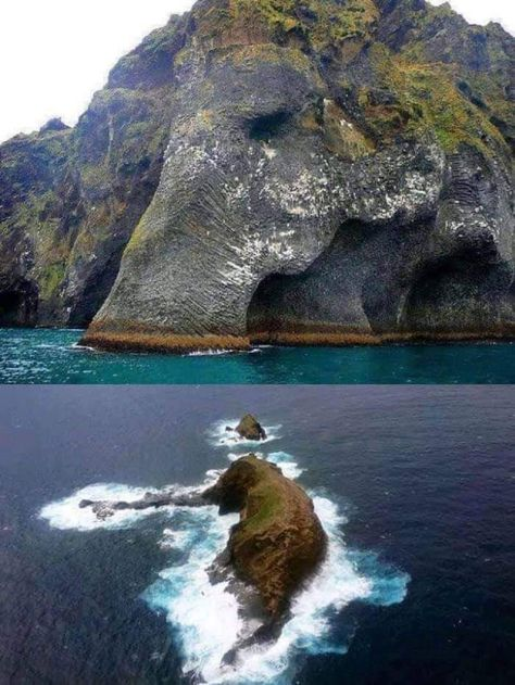 """Earth's Beauty on Twitter: """"The famous """"Elephant Rock"""" in Iceland. Wow!… """""""