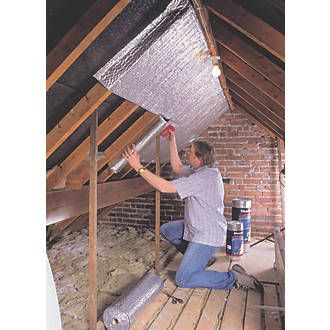 Ybs Thermawrap General Purpose Insulation 10 X 1 05m Attic Flooring Attic Remodel Attic Insulation