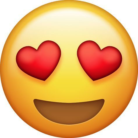 Heart Eyes Emoji 2 Png 640 640 Pixels Emoticones De Whatsapp